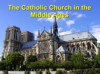 Catholic Church In Medieval Europe