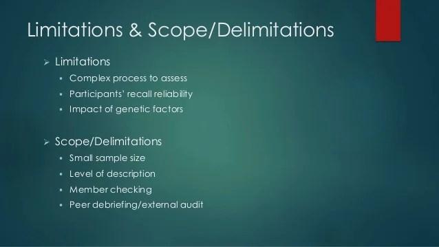 Dissertation Proposal Defense Slideshow; Phenomenology