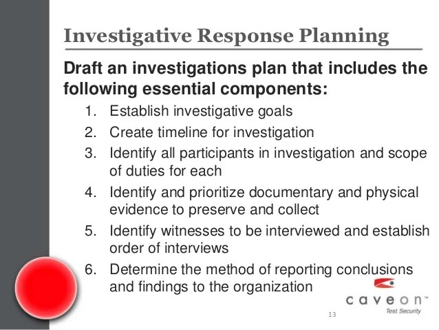 Caveon Webinar Series Exam Integrity Investigations An