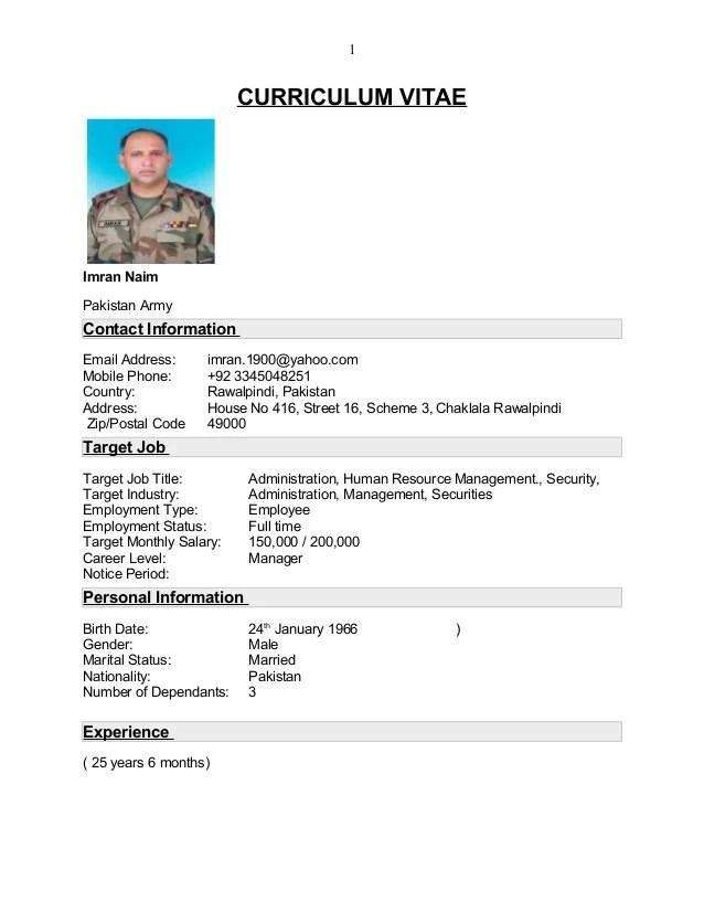 Imran Naim CV Final