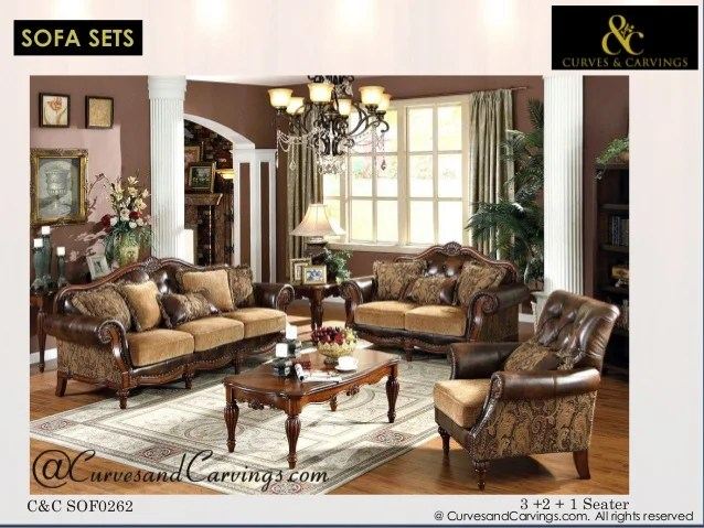 colonial sofa sets india side laptop table buy designer luxury furniture online catalogue all rights reserved c sof0062 3 2 1 1seater26 27
