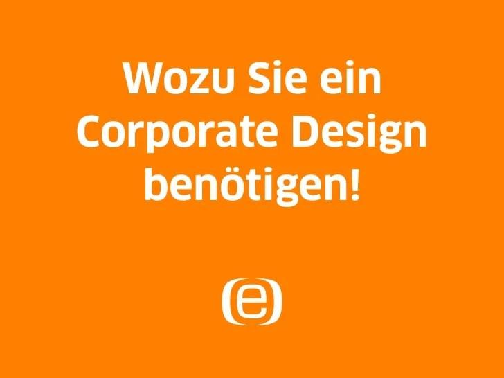 Wozu Sie Ein Corporate Design Benötigen