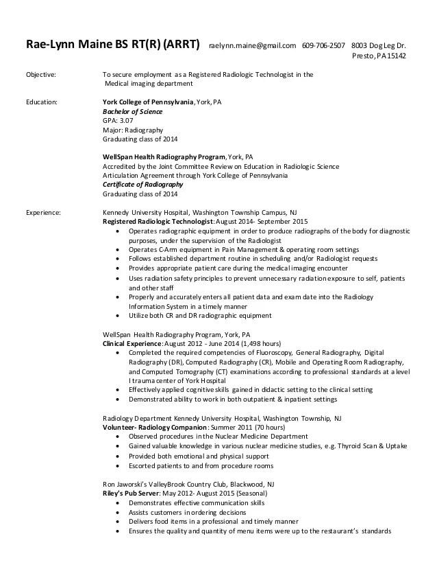 RT R Resume