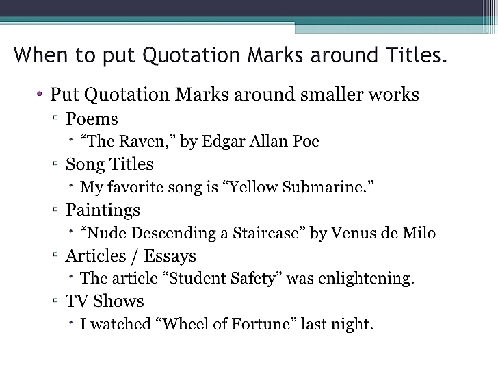All you need to know about titles in AP Style