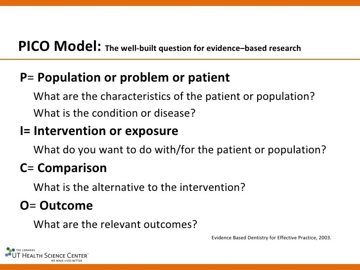 Module 2 Evidence Based Dental Public Health