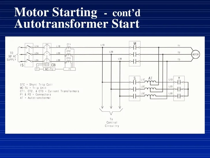 weg fire pump motor wiring diagram mallory electronic distributor starting cont d autotransformer start