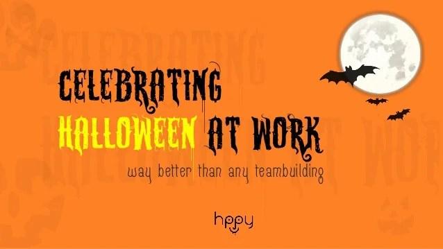 Celebrating Halloween At Work