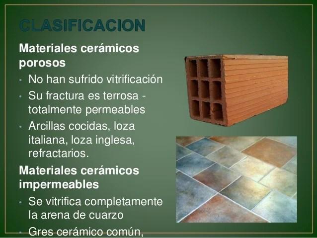 Materiales Ceramicos Quimica
