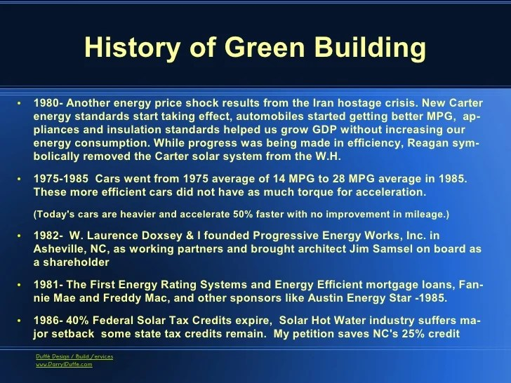 Sustainable Architecture And Green Building