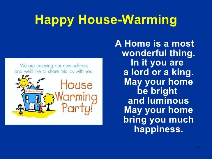House warming wishes greetings m4hsunfo