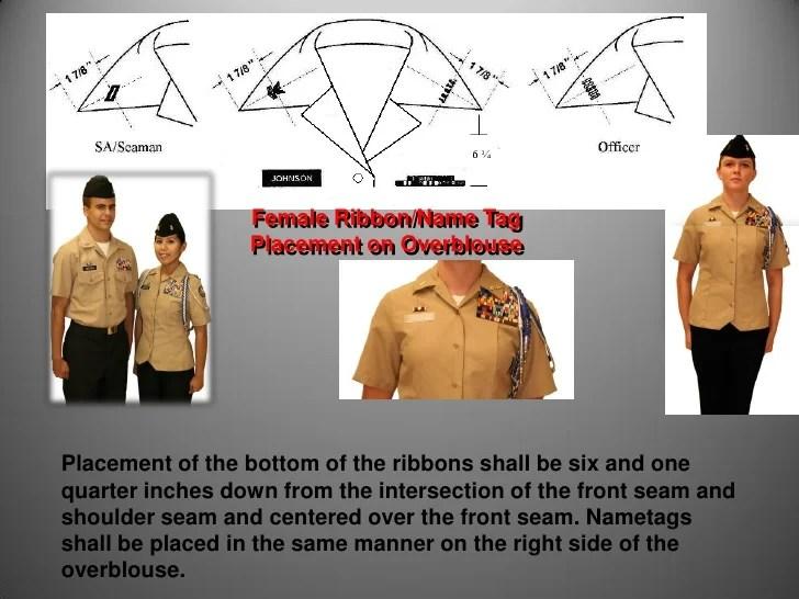 Navy Uniform Regulations Medals