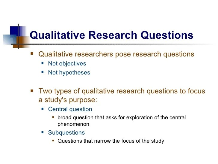 Qualitative Research Paper Critique Example Examples Of A Personal