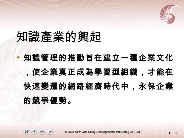 知識管理Ch1教科書整理講義