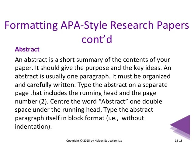 formatting apa style in word