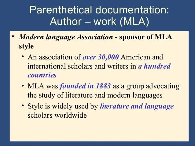 Writing The Research Paper A Handbook 7th Ed Ch 9 Mla System
