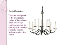 Chandeliers different types available in market