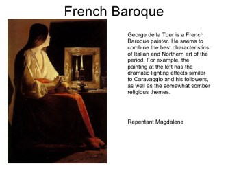 baroque mannerism renaissance kcc ch french chapter