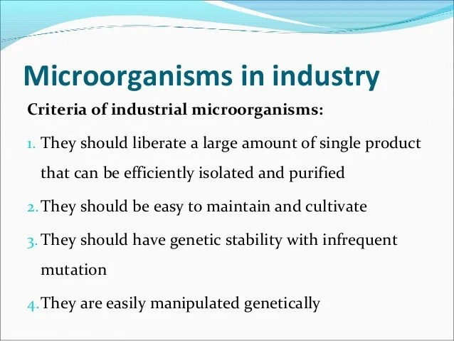 MIC204 (Food Microbiology) - Chapter 11 : Beneficial Uses ...
