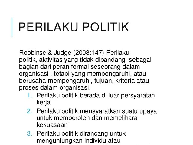 Chapter 11 Kekuasaan Dan Politik
