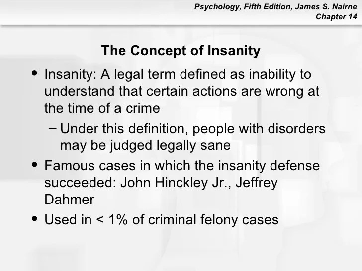 pscyhology 101 chapter14