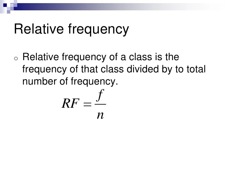 Chapter 2 Frequency Distribution And Graphs