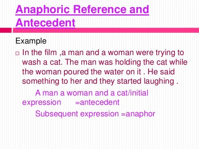 Chapter 3 Reference & Inference