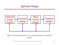 Chapter 5 software design