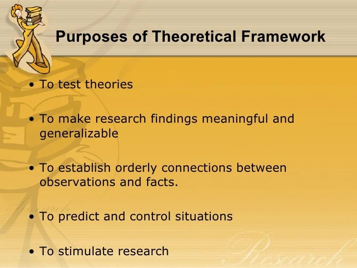 Chapter 6 THEORETICAL & CONCEPTUAL FRAMEWORK