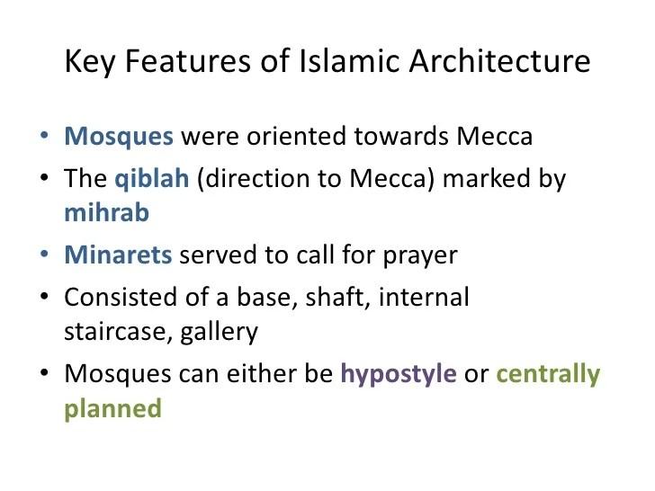 Chapter 8 Islamic Art