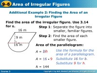 Holt Mathematics Worksheet Answers Area Of Irregular