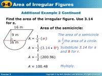 Holt Mathematics Worksheet Answers Area Of Irregular ...