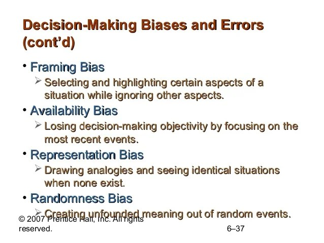 What Is Framing Bias In Decision Making | Framess.co