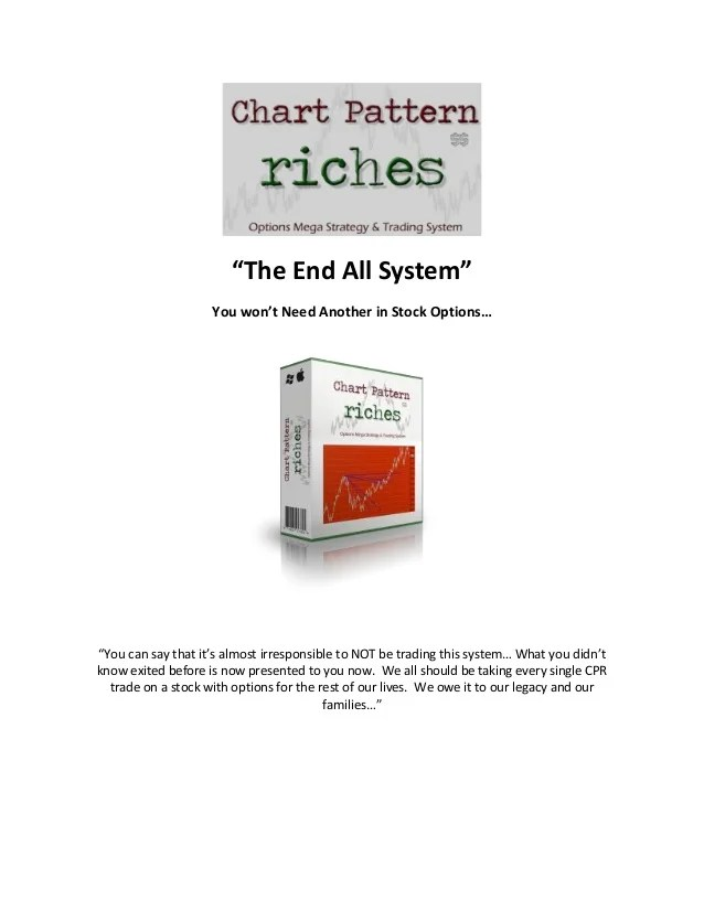cthe end all system   you won   need another in stock options also chart pattern riches mega strategy and trading rh slideshare