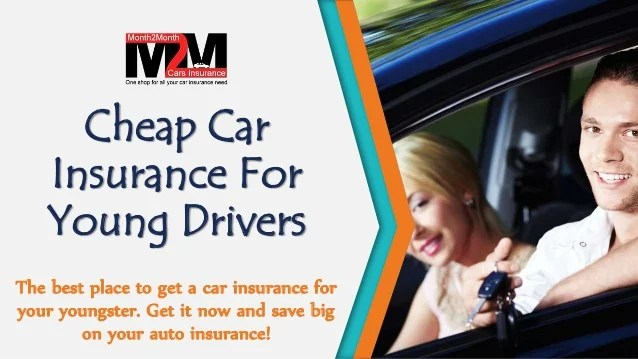 Get Cheap Car Insurance For Young Drivers With Lowest Charges