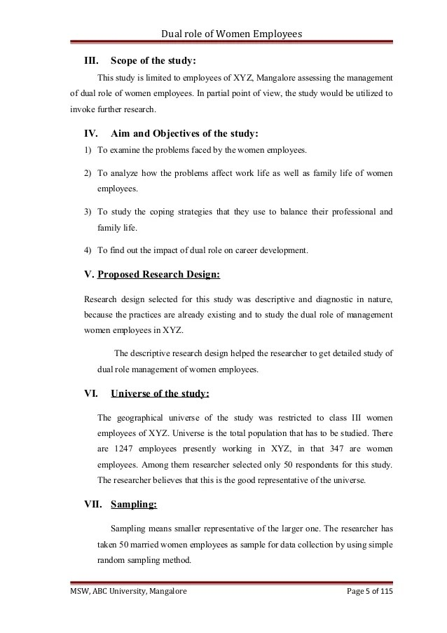 Check List & Research Dissertation Model Chapter 4 5 6