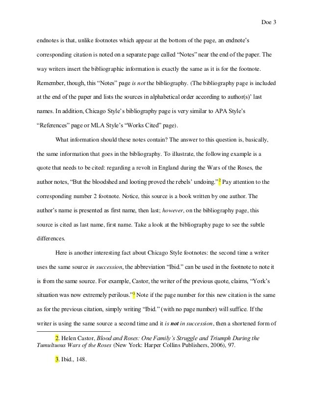 Example Of Footnotes In An Essay Hospi Noiseworks Co