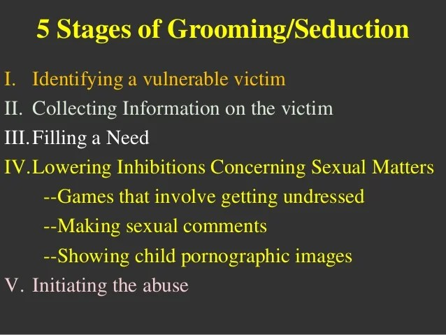 Image result for sexual grooming