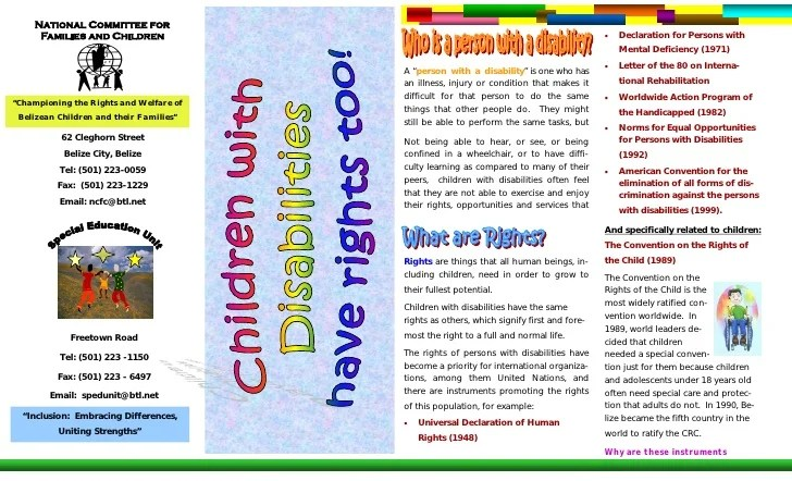Example Of Pamphlet Ideal Vistalist Co
