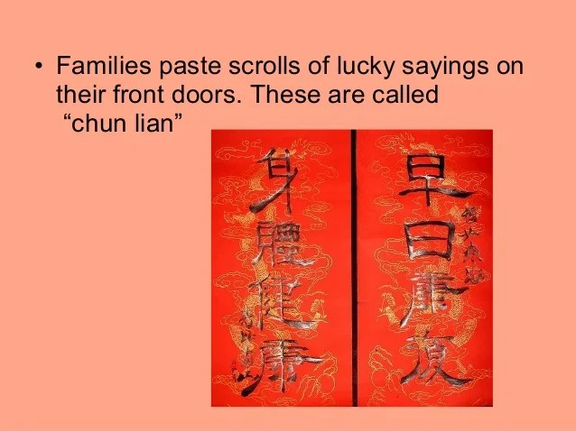 Chinese New Year Customs And Traditions Ppt