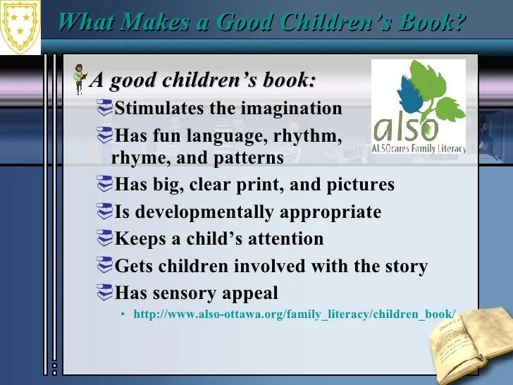Choosing Childrens Literature