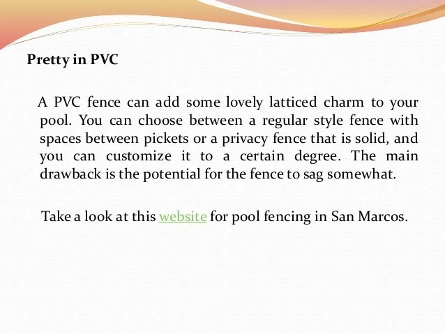 Choosing The Right Type Of Pool Fencing