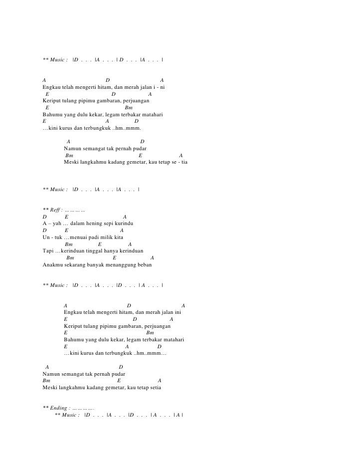 Chord Cerita Anak Jalanan : chord, cerita, jalanan, Jalanan, Chord
