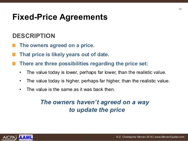 Cross Purchase Buy Sell Agreements