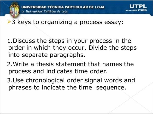 Chronological order essay organization  reportthenews567