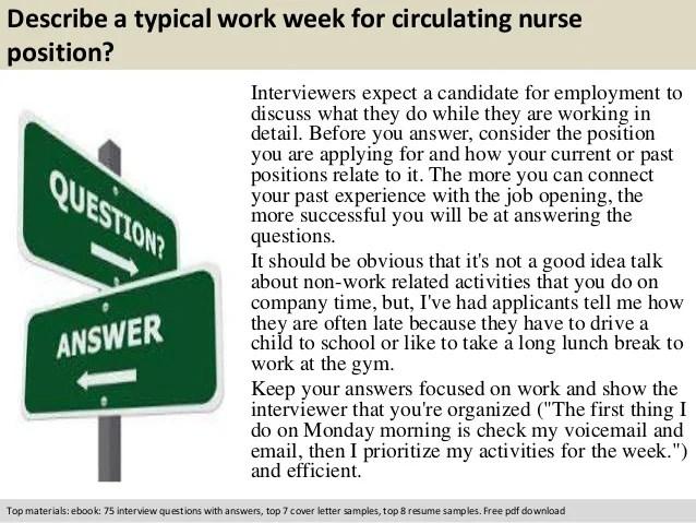 Cover Letter Circulating Nurse