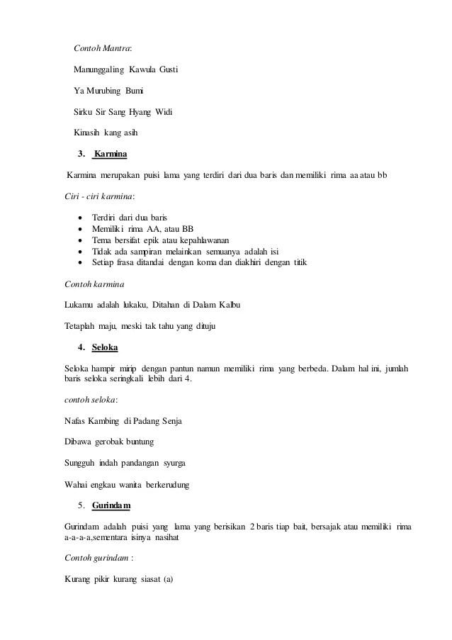 Sastra Melayu Klasik: Pengertian, Ciri-Ciri, Jenis, dan