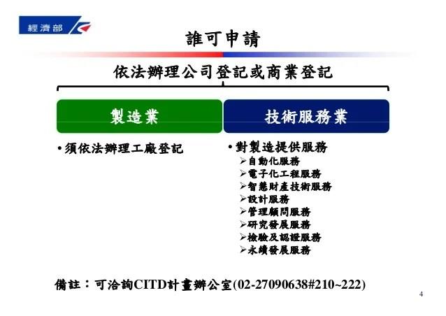 青創沙龍 #7 經濟部 CITD 協助傳統產業技術開發計畫:電梯簡報 - 計畫協同主持人陳淑琴