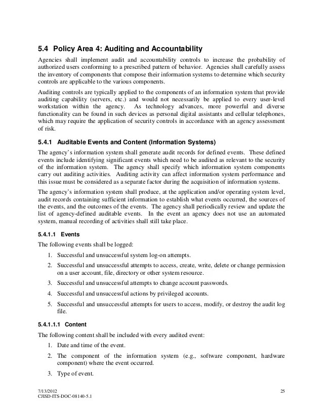 Cjis Security Policy 55