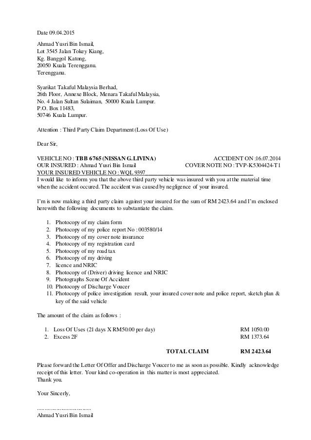 Contoh Surat Gst Backup Gambar