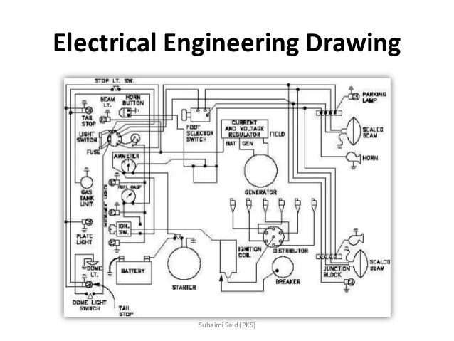 Electrical Drawing Of A Building